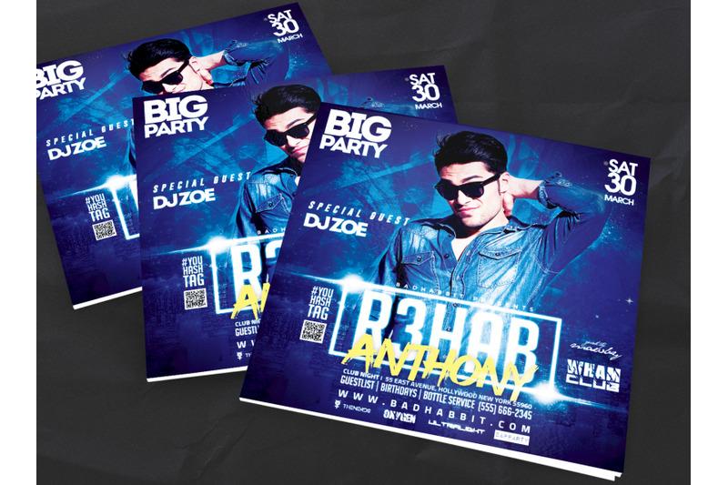 nightclub-flyer