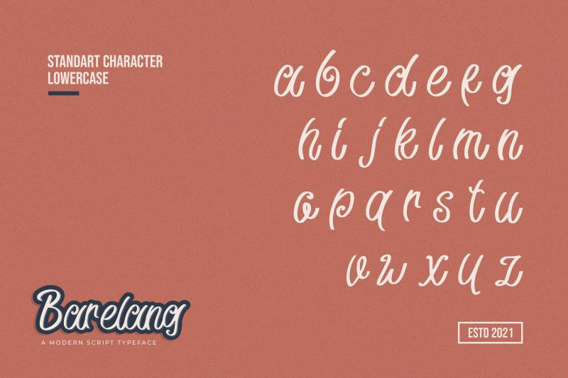 barelang-a-modern-script-typeface