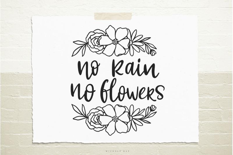 no-rain-no-flowers-quote-svg-cut-file