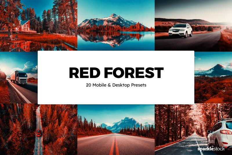 20-red-forest-lr-presets