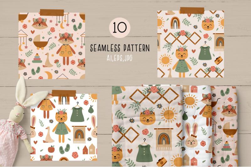 bohemian-nursery-collection