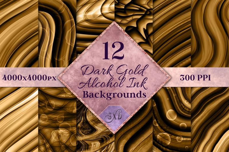 dark-gold-alcohol-ink-backgrounds-12-image-set