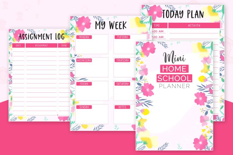 mini-home-school-planner-pink