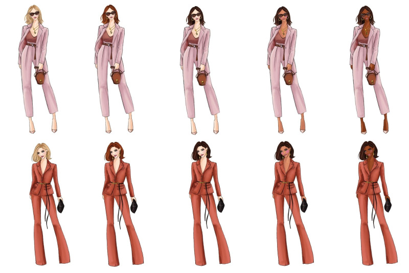 fashion-girls-42-fashion-clipart-set