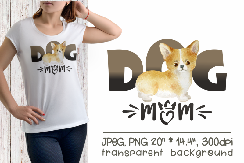 welsh-corgi-dog-mom-sublimation-design
