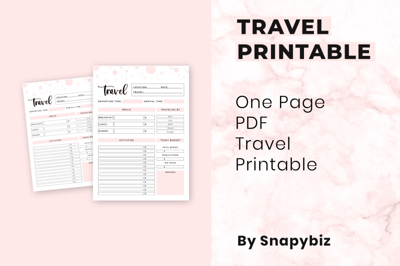 travel-printable
