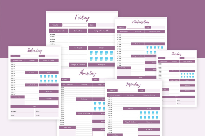 7-days-planner