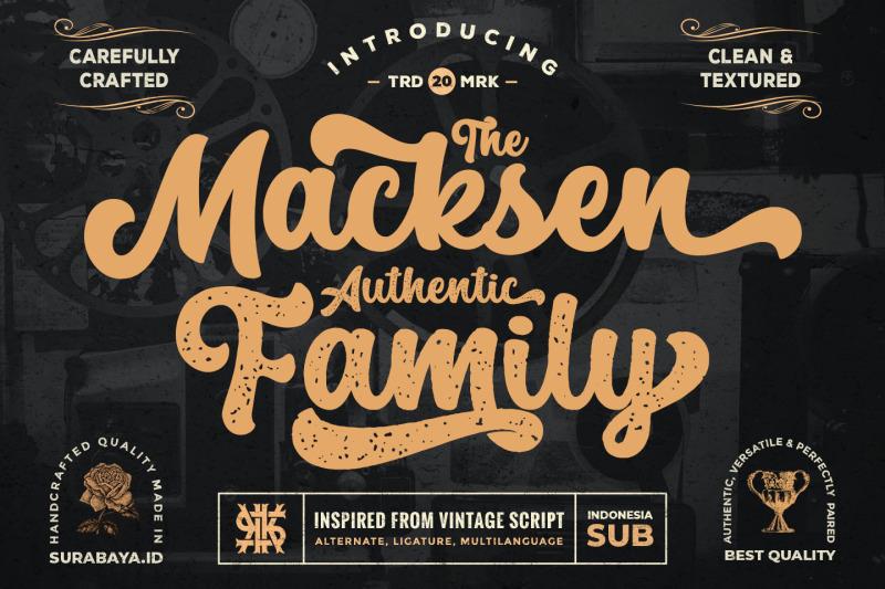 retro-script-the-macksen-font