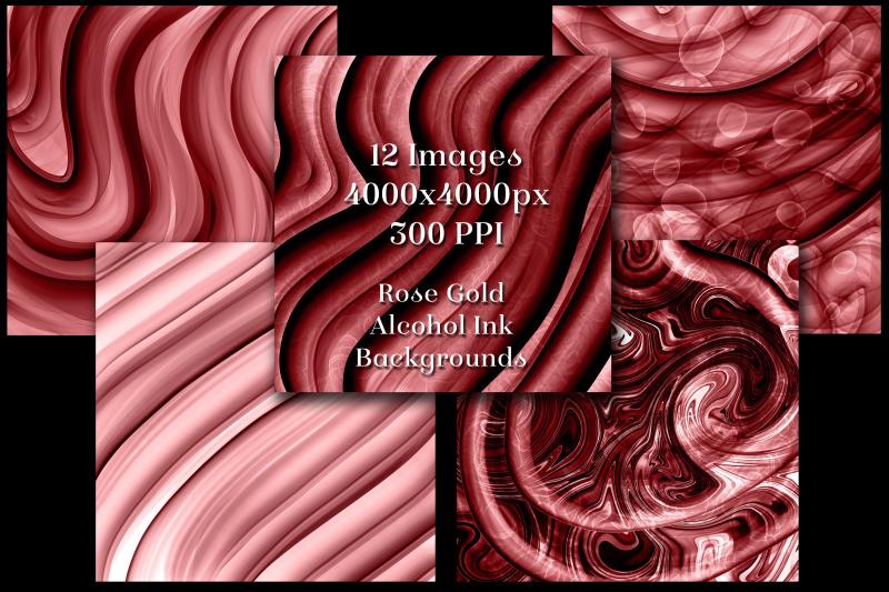 rose-gold-alcohol-ink-backgrounds-12-image-set