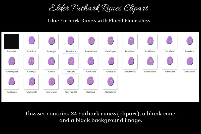 lilac-flourish-elder-futhark-runes-set-clipart-images
