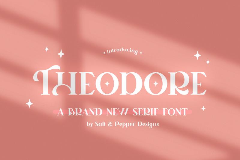 theodore-serif-font-serif-fonts-craft-fonts-logo-fonts