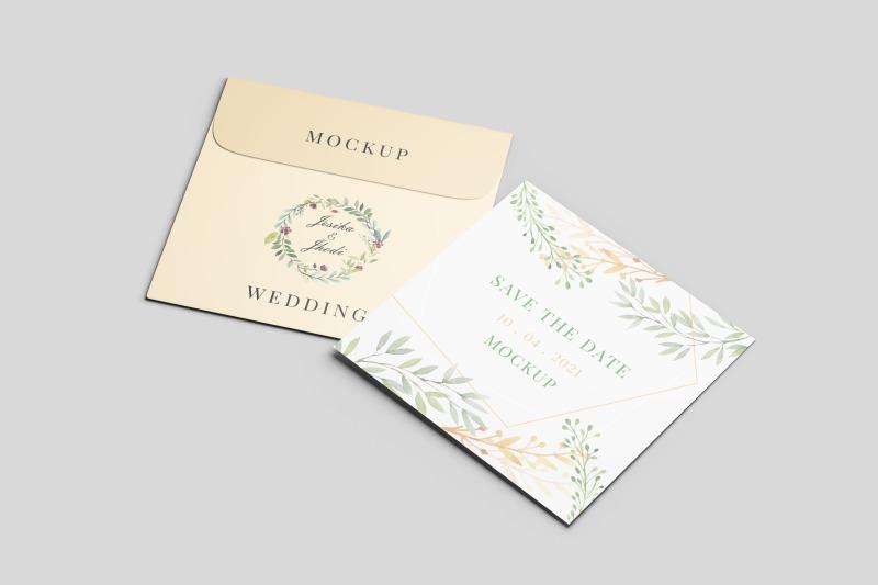 square-greeting-card-wedding-and-envelope-mockup-nbsp