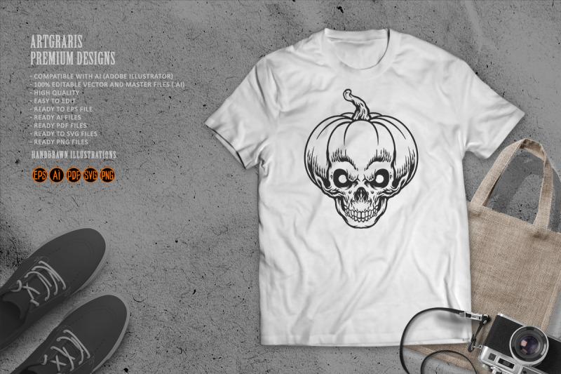 halloween-silhouette-pumpkin-skull-svg-clipart