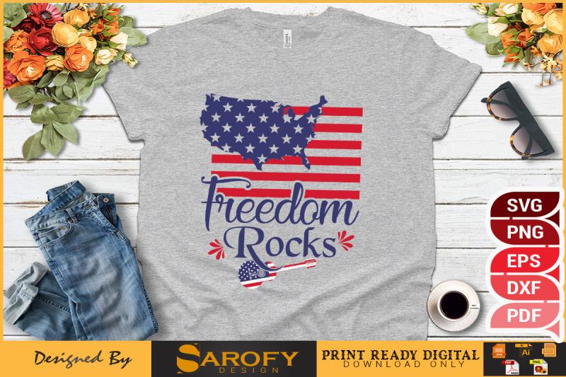 freedom-rocks-4th-july-design-sublimation-svg