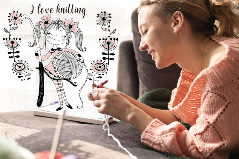 crochet-digital-cliparts-for-knitting-svg-png-girls-knits