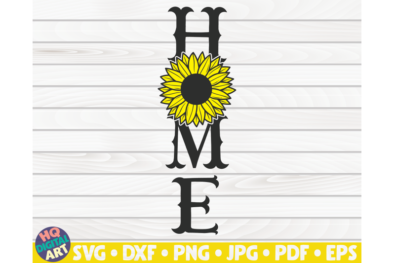 home-porch-sign-with-sunflower-svg-summer-themed