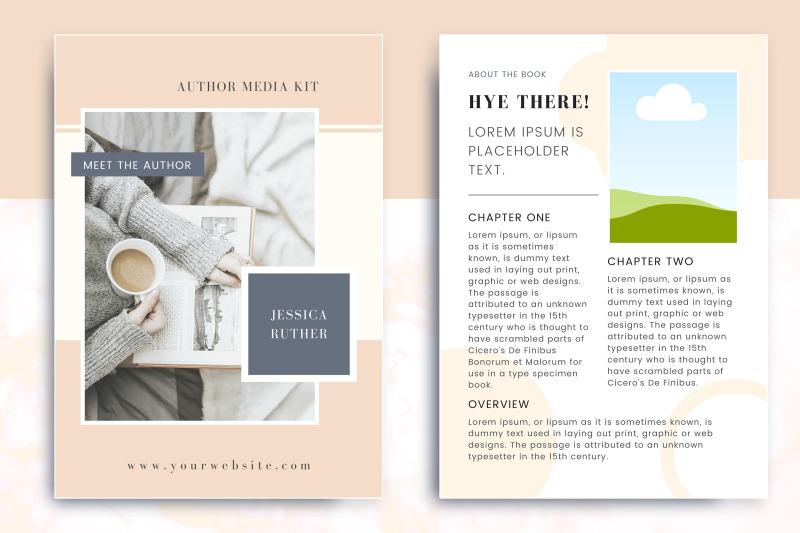 minimalist-author-media-kit