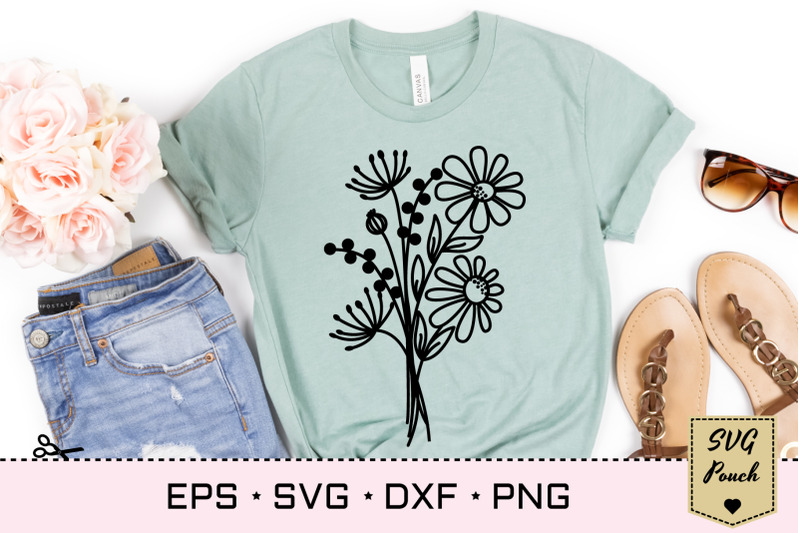 wildflower-bouquet-svg