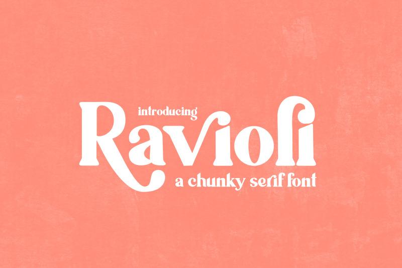 ravioli-serif-font-bold-fonts-chunky-fonts-thick-fonts