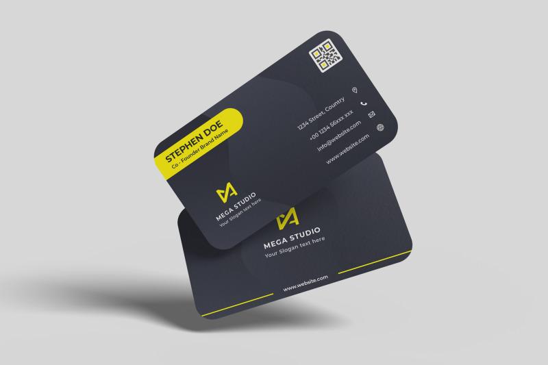 Download Floating Business Card Mockup V1 Free Mockups