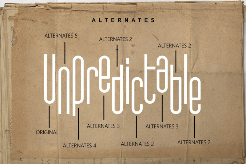 unpredictable-display-sans-font