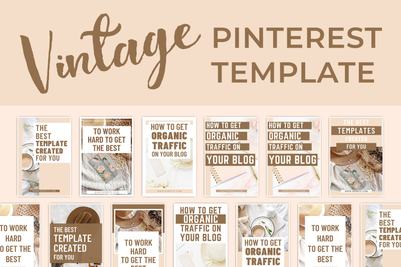 vintage-pinterest-template