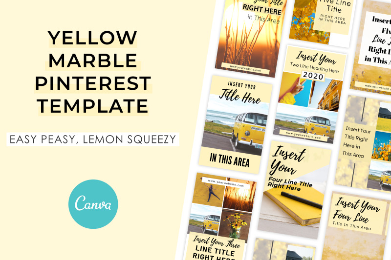 yellow-marble-pinterest-template