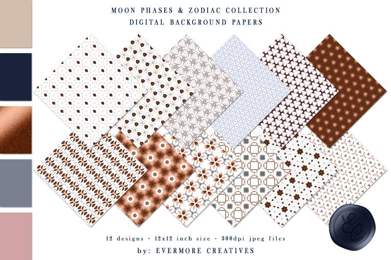 lunar-cycles-moon-phase-amp-zodiac-digital-paper-pack