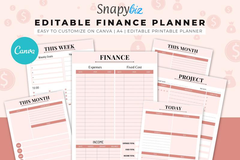 finance-canva-planner