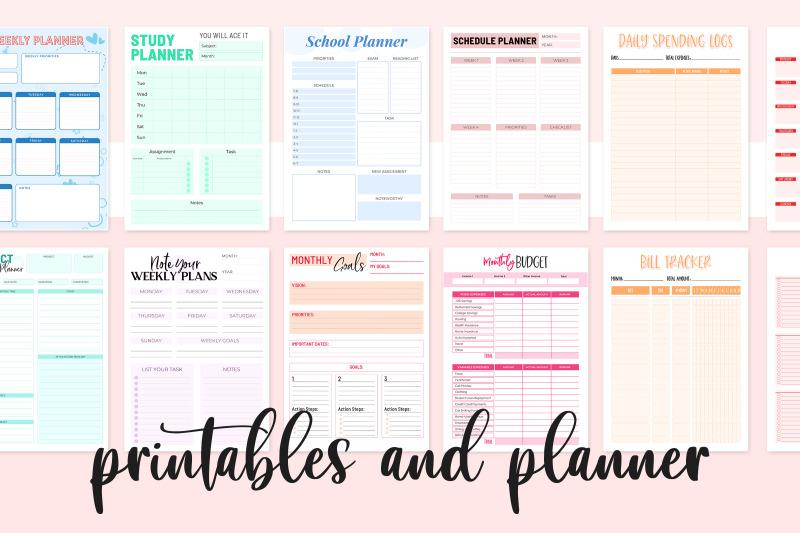 ready-to-print-printable-planner-bundle-printable-bundle