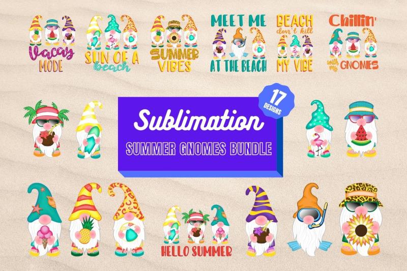 summer-gnomes-sublimation-bundle