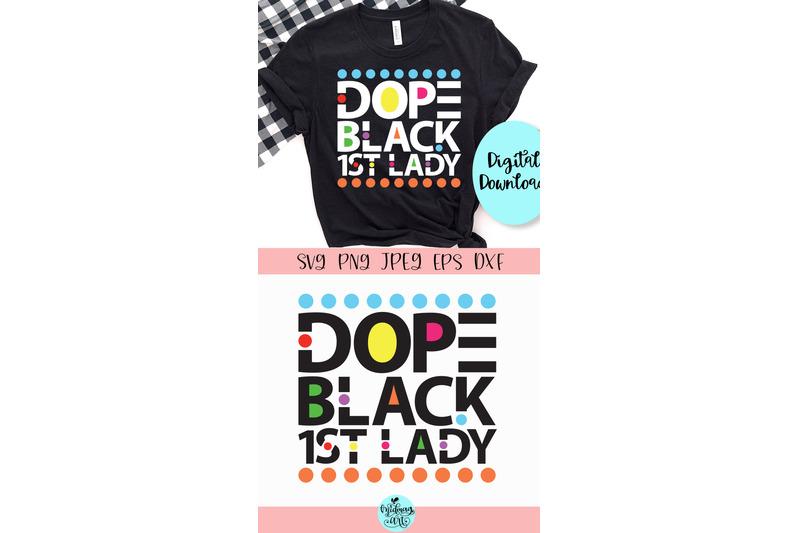 dope-black-1st-lady-svg-dope-svg