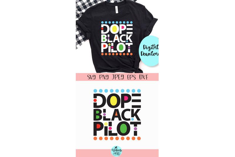 dope-black-pilot-svg-dope-svg