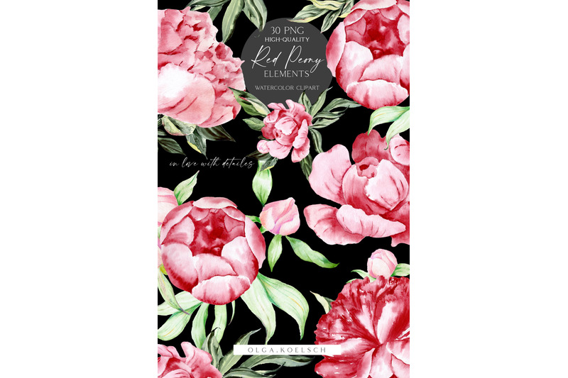 watercolor-boho-peonies-clipart-watercolor-burgundy-and-blush-flowers-png-floral-boho-wedding-clipart-mother-039-s-day-card-diy