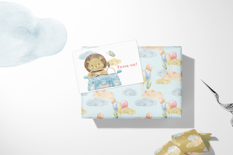 wonder-journey-cute-safari-baby-animals-watercolor
