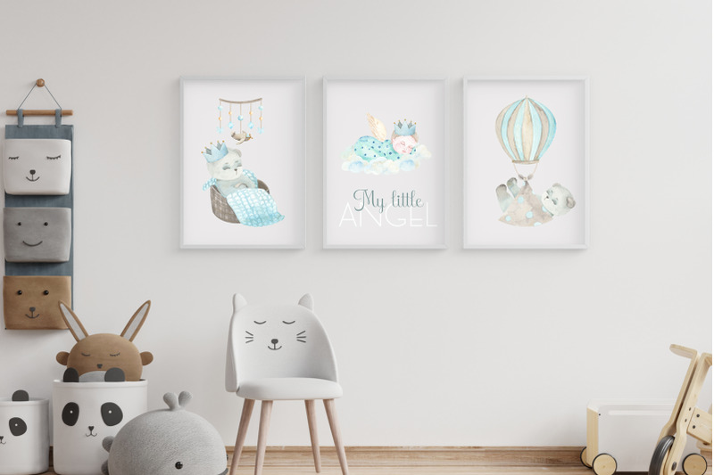 my-little-boy-watercolor-collection