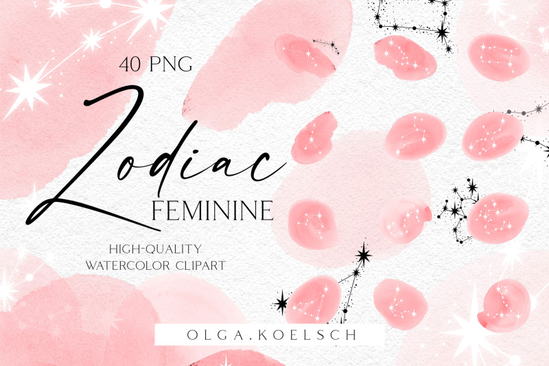 watercolor-zodiac-clipart-astrology-clipart-celestial-feminine-png