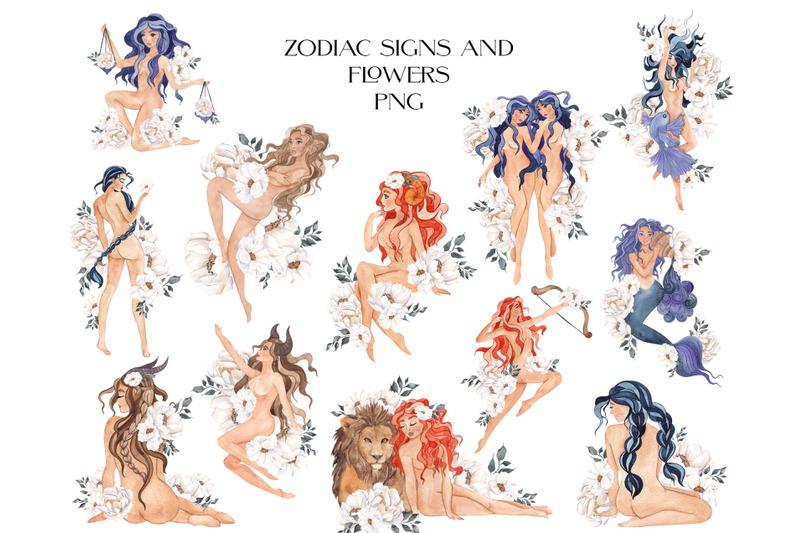 zodiac-watercolor-graphic-collection