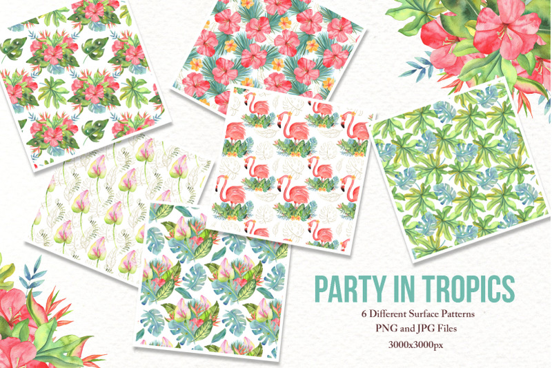 watercolor-tropical-party