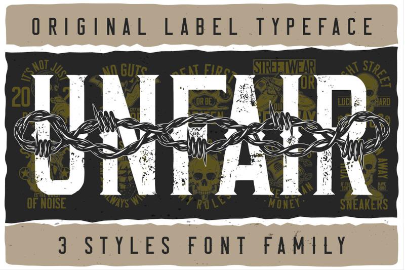 unfair-font-family
