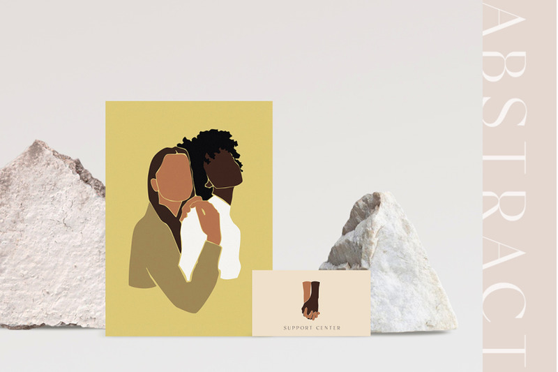 abstract-black-afro-family-amp-kids