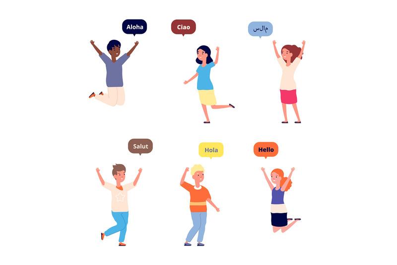 international-hello-friendly-children-greetings-on-foreign-language