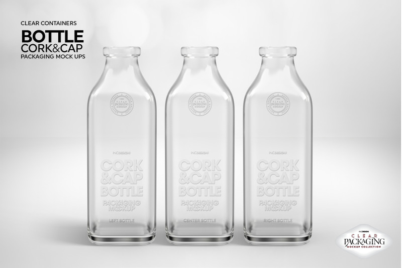 Download Clear Glass Vodka Bottle Mockup Yellow Images