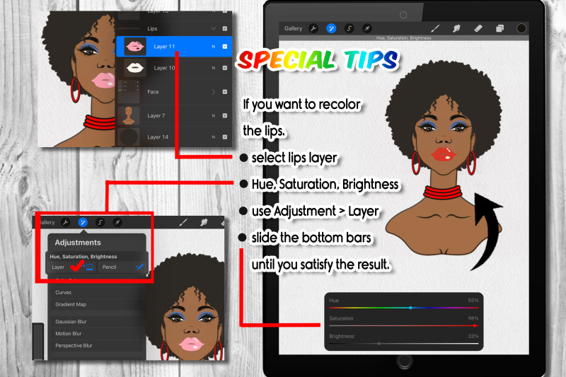 black-queen-1-charactor-builder-stamp-brush-for-procreat