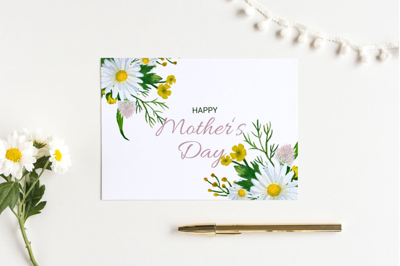 mother-039-s-day-card-with-daisies-5x7-inch
