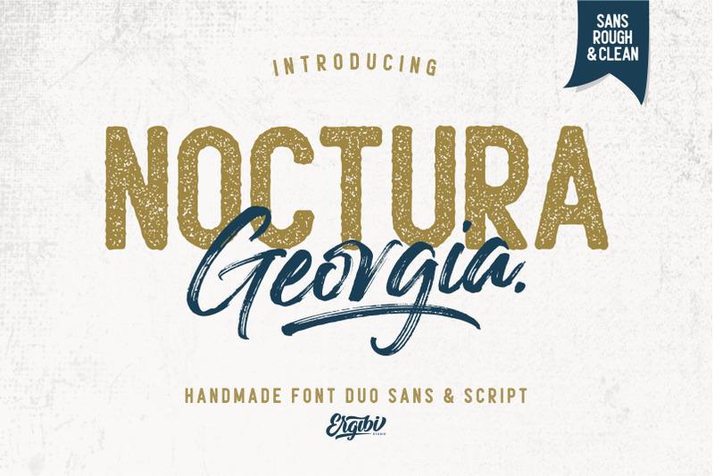 noctura-georgia-font-duo