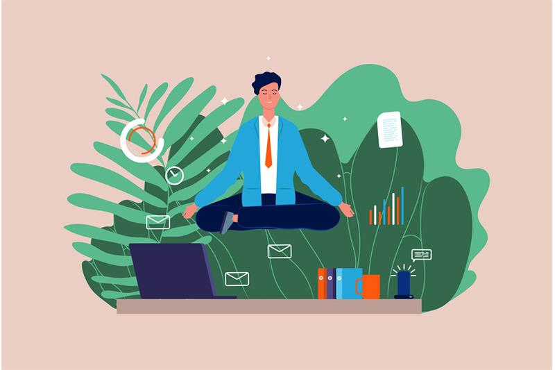 work-meditation-stressful-businessman-yoga-character-manager-sittin