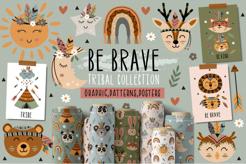 be-brave-tribal-collection