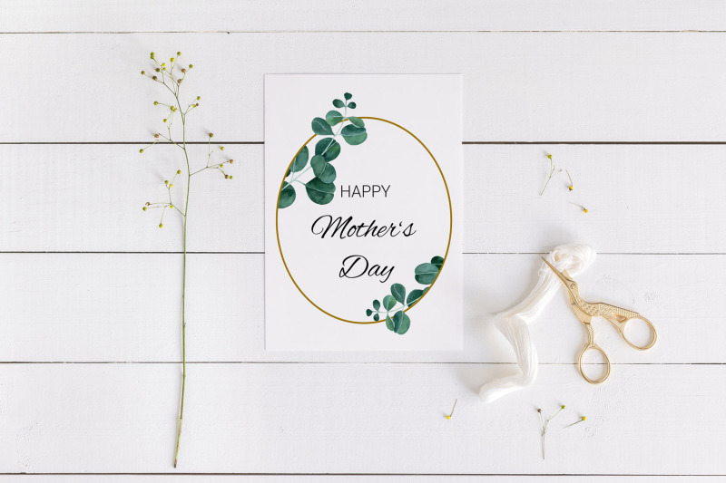 elegant-mother-039-s-day-card-with-eucalyptus-frame