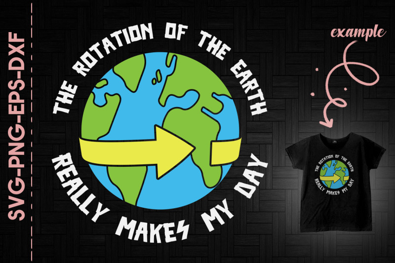 the-rotation-of-the-eart-makes-my-day